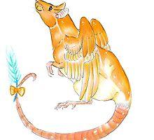 .:Angel Rat:. by CrimsonPencil94
