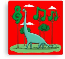 Sebastian BACHiosaurus Canvas Print