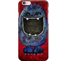 happy monster iPhone Case/Skin