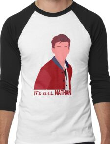 """It's cool Nathan"" Life is strange Simplistic art | Nathan Prescott Men's Baseball ¾ T-Shirt"