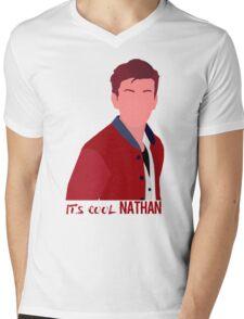"""It's cool Nathan"" Life is strange Simplistic art | Nathan Prescott Mens V-Neck T-Shirt"
