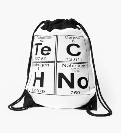 Techno Bag? Techno everything! Drawstring Bag
