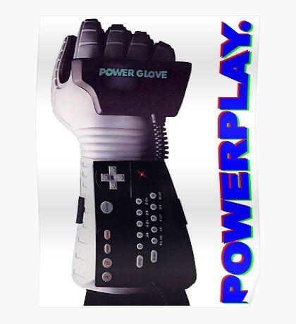 NES Power Glove - POWERPLAY Poster
