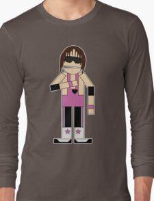 WWE Legend Bret 'The Hitman' Hart (Canadian South Park) Long Sleeve T-Shirt