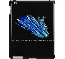 Turrican - Battle Cruiser iPad Case/Skin