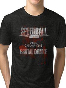 Speedball 2 - Speedball League Champions 2016 Tri-blend T-Shirt