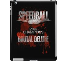 Speedball 2 - Speedball League Champions 2016 iPad Case/Skin