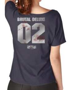 Speedball 2 - Brutal Deluxe Jersey - Steel and Blood Women's Relaxed Fit T-Shirt
