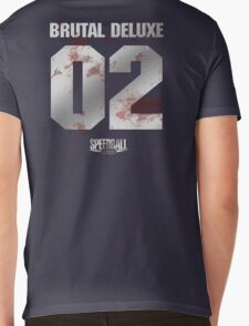 Speedball 2 - Brutal Deluxe Jersey - Steel and Blood Mens V-Neck T-Shirt