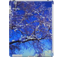 Snow on a Tree iPad Case/Skin