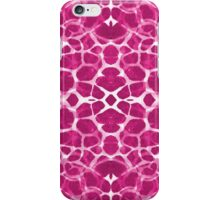 Abstract Style Pink Giraffe Pattern. iPhone Case/Skin