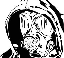 Hooded Gas Mask by intfactory