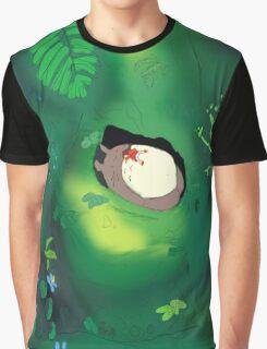 My neighbour totoro tree scene  Graphic T-Shirt