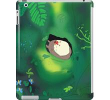 My neighbour totoro tree scene  iPad Case/Skin