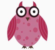 owl kids clothing design  Baby Tee