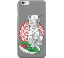 No-one but me makes the sushi (Japanese cat chef) iPhone Case/Skin
