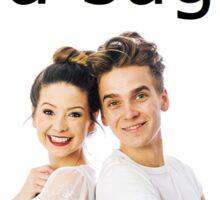 I'm a SUGGLET! Joe & Zoe Sugg! Sticker
