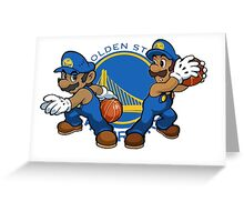 The Splash Brothers Greeting Card