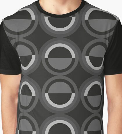 Abstract disco pattern Graphic T-Shirt