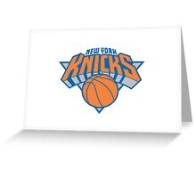 NY KNICKS BASIC LOGO Greeting Card