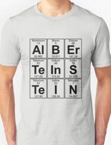 Al-B-Er-Te-In-S-Te-I-N (albert einstein) T-Shirt
