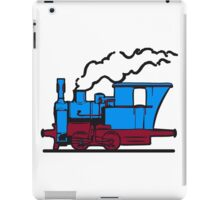 dampflok railroad small iPad Case/Skin
