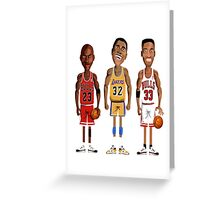 NBA FOREVER LEGEND Greeting Card