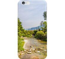 springtime river iPhone Case/Skin