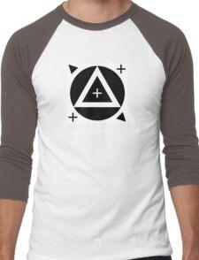 Motion Tracking Marker - White Background Men's Baseball ¾ T-Shirt