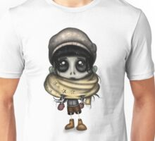 Skeleton Girl - Pattern Unisex T-Shirt