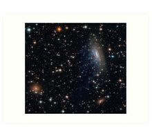 Barred Spiral Galaxy ESO 137-001 in Abell 3627 (Norma Cluster) Art Print