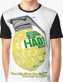 When Life Gives You MeLons (you maybe dyslexic) 2 Graphic T-Shirt