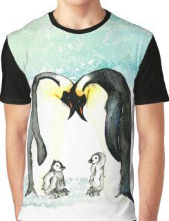 Emperor Penguins  Graphic T-Shirt