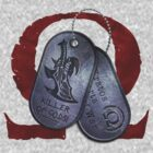 Spartan Veteran Dog Tag by gabriel-arruda
