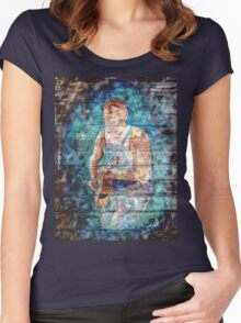 Seasick Steve Women's Fitted Scoop T-Shirt