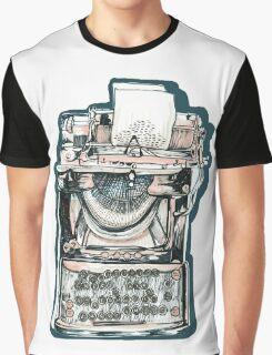 Typewriter Graphic T-Shirt