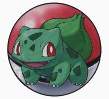 Bulbasaur pokeball - pokemon by pokofu13