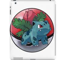 ivysaur pokeball - pokemon iPad Case/Skin