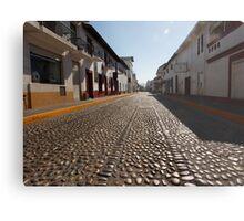 cobblestone - empedrado Metal Print