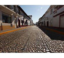 cobblestone - empedrado Photographic Print