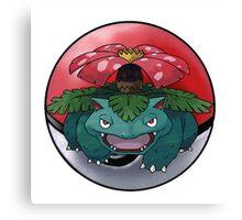 venusaur pokeball - pokemon Canvas Print