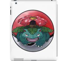 venusaur pokeball - pokemon iPad Case/Skin