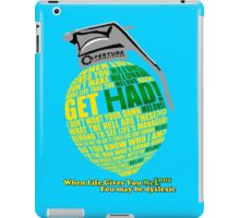 Combustible Melon (no outline) iPad Case/Skin