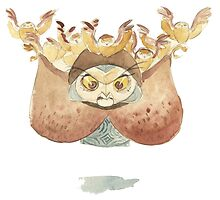 evil owl by anupa445