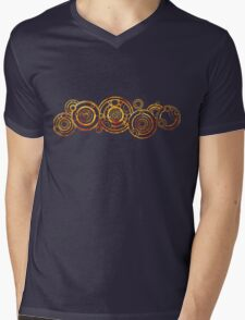 Doctor Who - The Doctor's name in Gallifreyan #2 Mens V-Neck T-Shirt