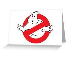Ghostbusters logo Greeting Card