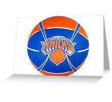 New York Knicks Greeting Card