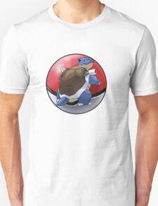 blastoise pokeball - pokemon T-Shirt
