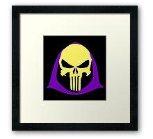 Skeletor-Punisher Composite Framed Print