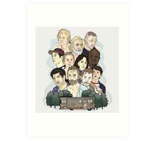 The Walking Dead / Season One Art Print